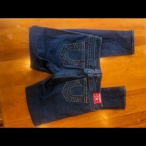 True Religion Women's Jeans Stella Skinny Jean 32